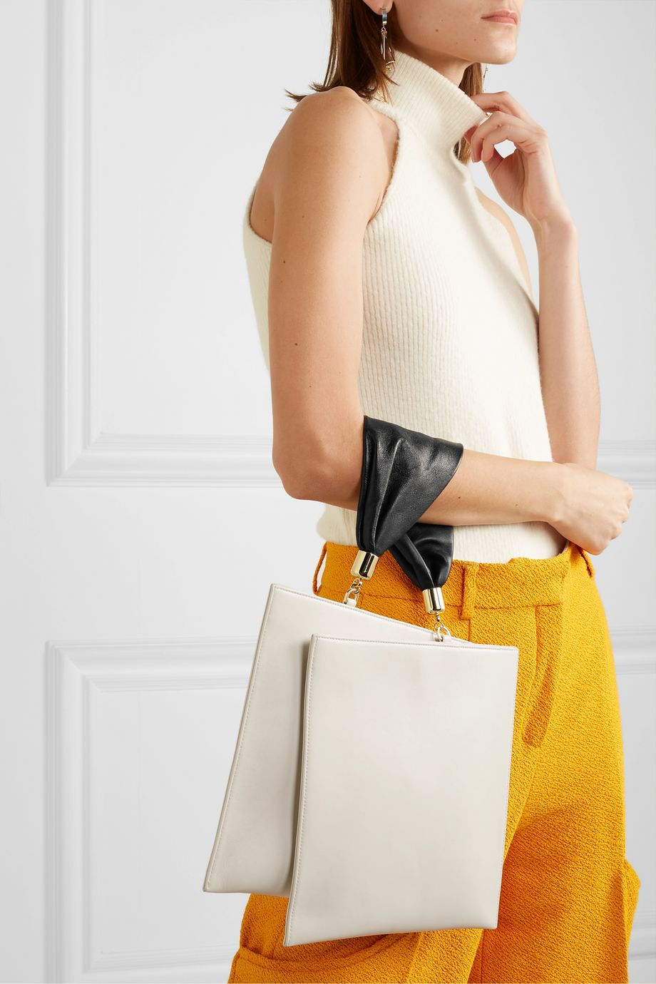 The Sant Obi leather tote