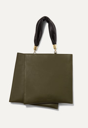 Obi leather tote
