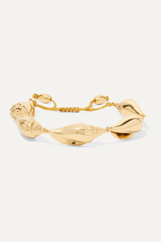 Tohum Colubra gold-plated bracelet