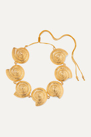 Tohum Archi gold-plated necklace