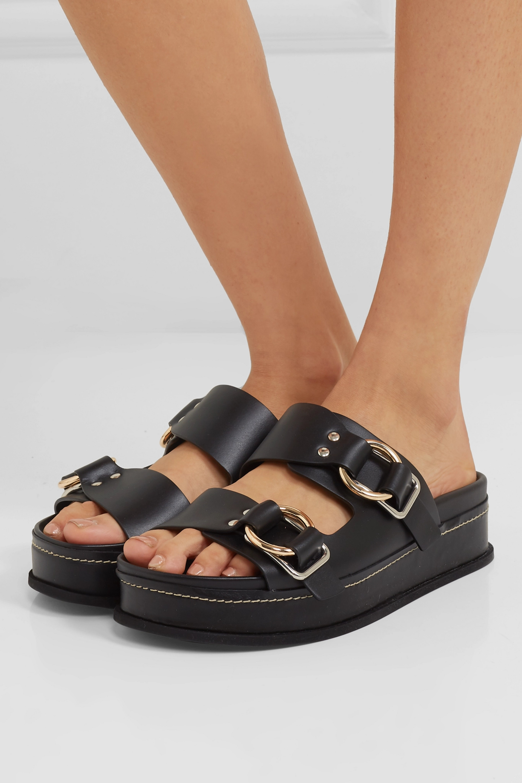 3.1 Phillip Lim Freida leather platform sandals