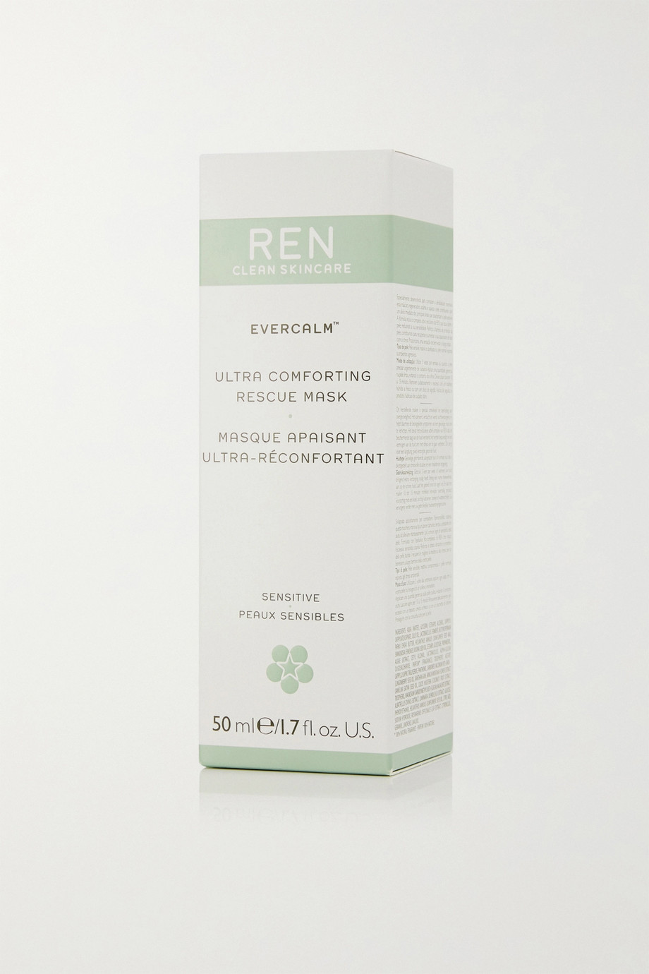 REN Clean Skincare Evercalm™ Ultra Comforting Rescue Mask, 50ml