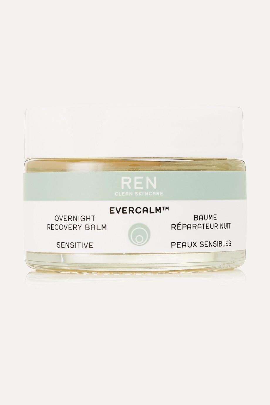 REN Clean Skincare Evercalm™ Overnight Recovery Balm, 30ml