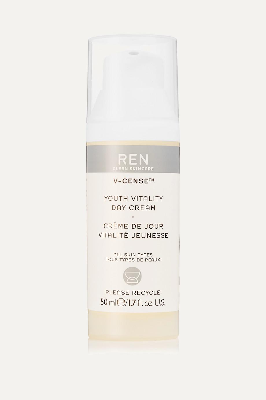 REN Clean Skincare V-Cense™ Youth Vitality Day Cream, 50ml