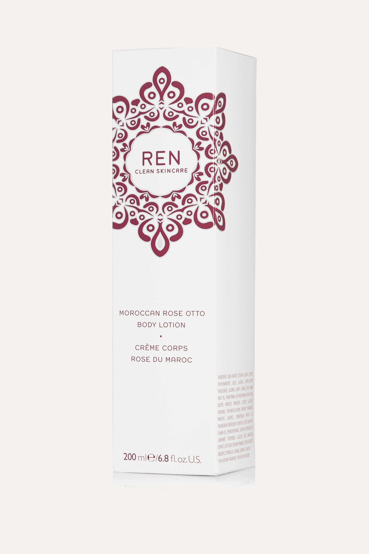 REN Clean Skincare Moroccan Rose Otto Body Lotion, 200ml