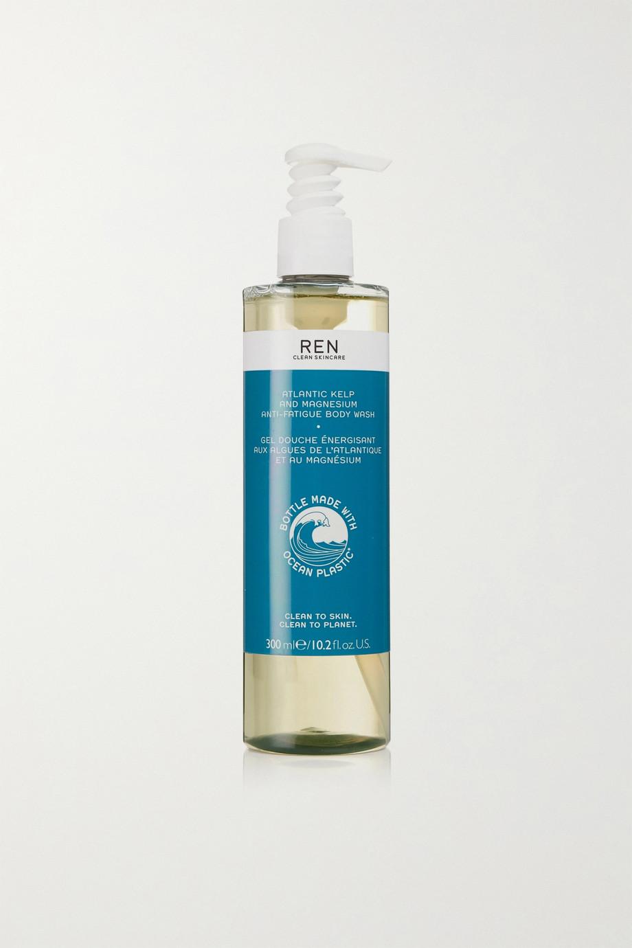 REN Clean Skincare Atlantic Kelp And Magnesium Anti-Fatigue Body Wash, 300 ml