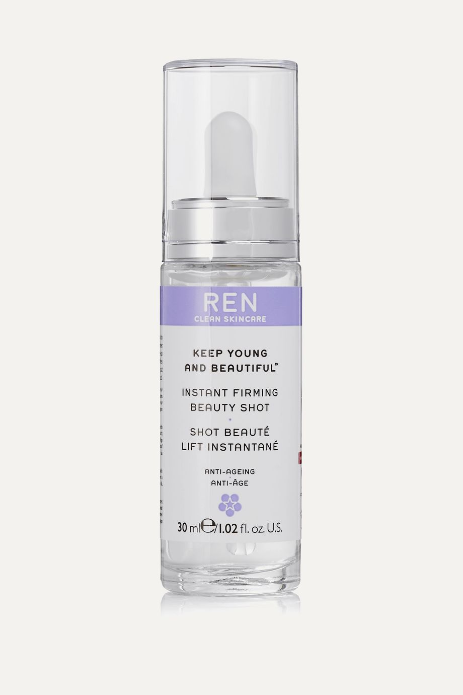REN Clean Skincare Keep Young And Beautiful Instant Firming Beauty Shot, 30ml