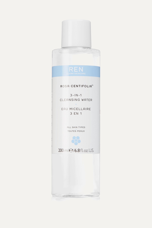 REN Clean Skincare Rosa Centifolia 3-in-1 Cleansing Water, 200ml