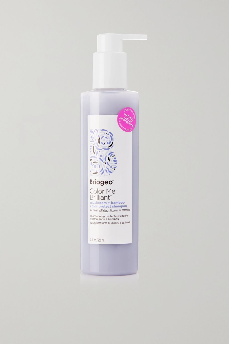 Briogeo Color Me Brilliant Mushroom + Bamboo Color Protect Shampoo, 236ml
