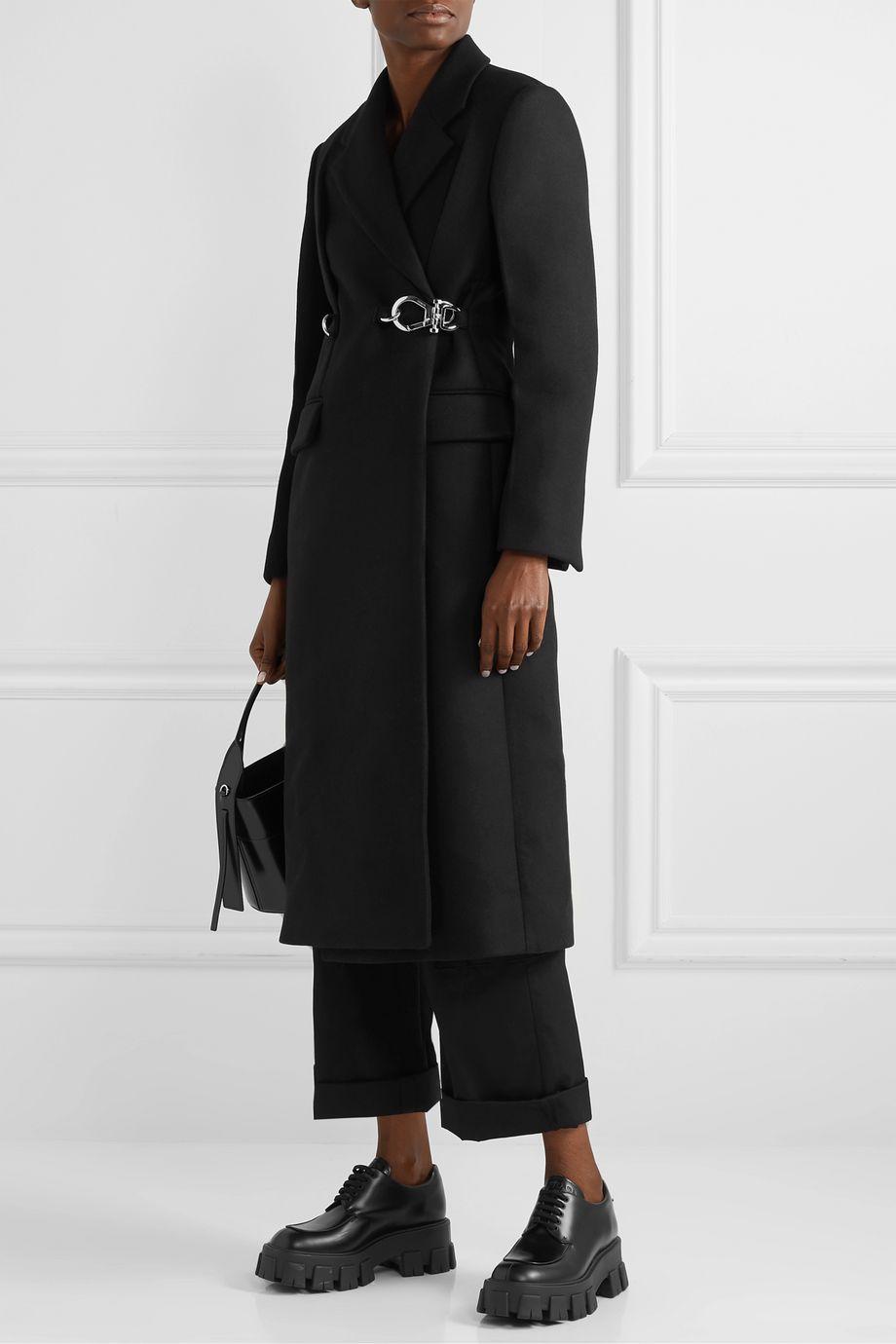 Prada Belted wool coat