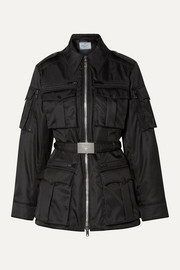 Prada Belted shell jacket