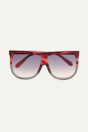 Loewe Filipa oversized D-frame two-tone acetate sunglasses