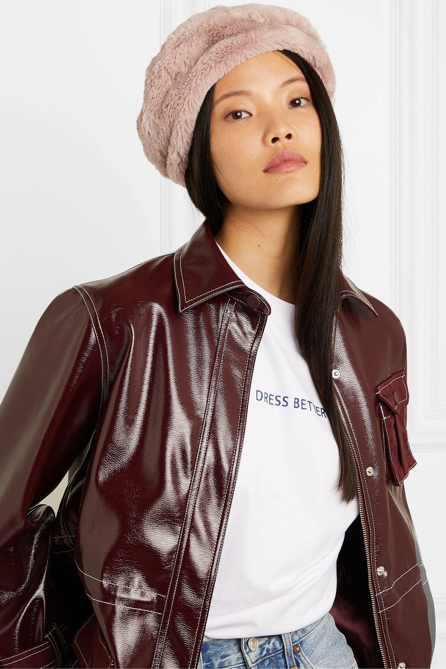 Eugenia Kim Mishka faux fur beret