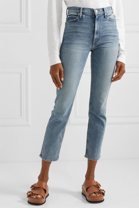 The Dazzler high-rise straight-leg jeans