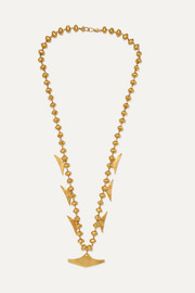 CANO x Paula Mendoza Canoa gold-plated necklace