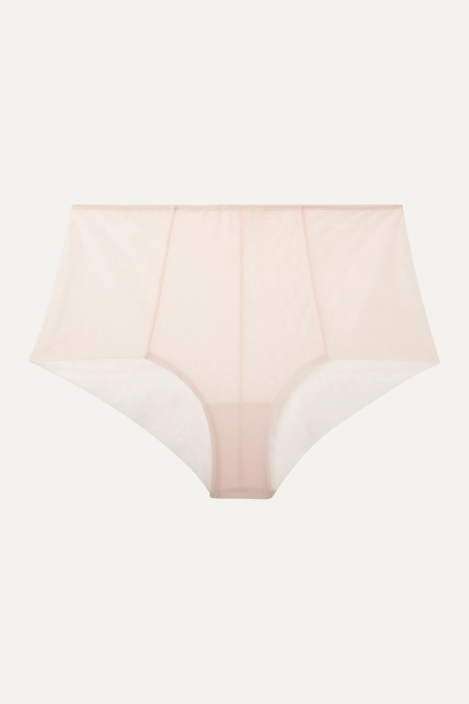 The Great Eros Canova stretch-tulle briefs