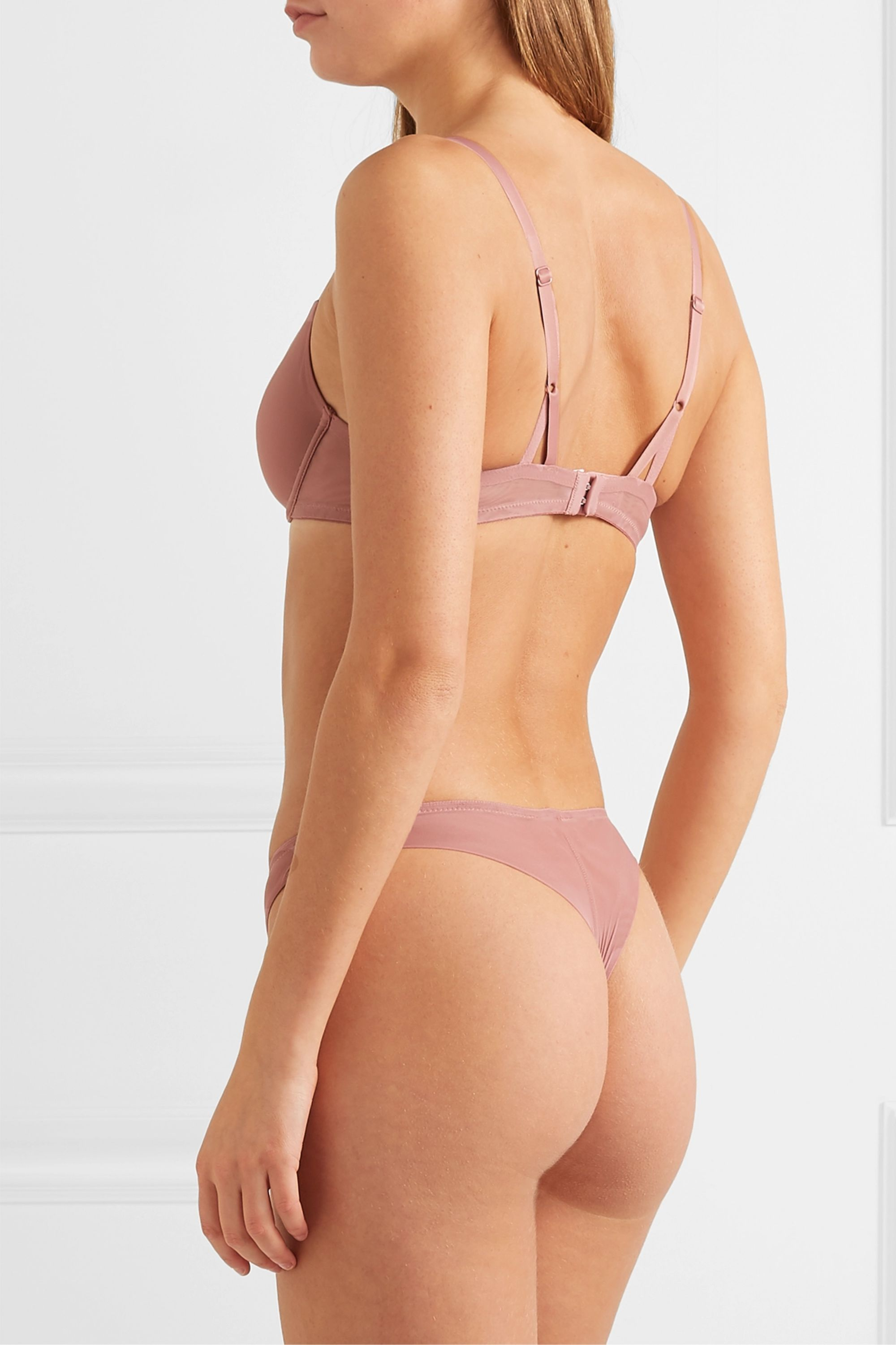 The Great Eros Canova stretch-tulle underwired bra