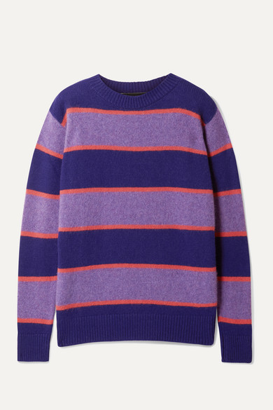 Super Striped Cashmere Sweater by The Elder Statesman