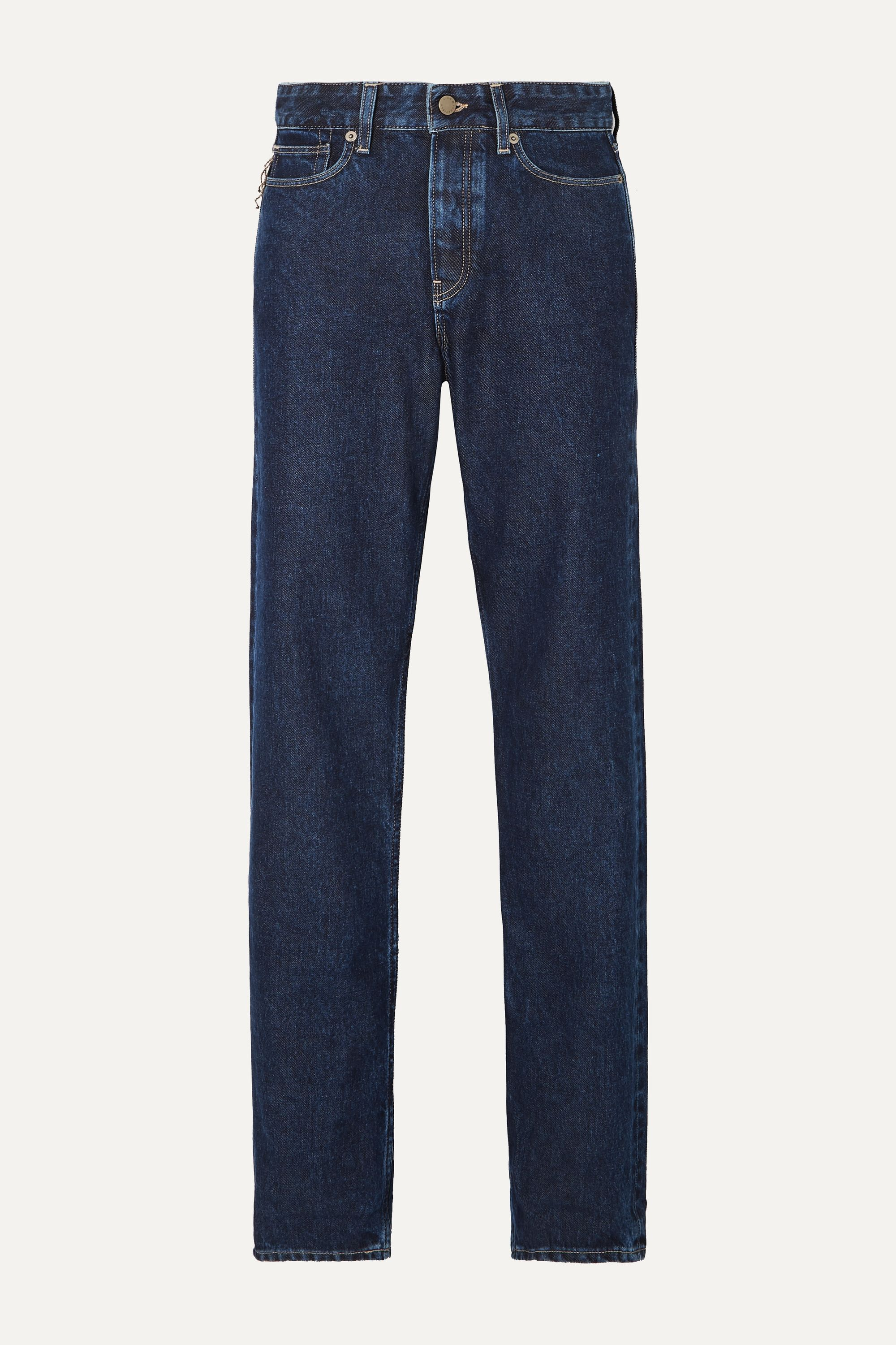 King & Tuckfield Briony high-rise straight-leg jeans