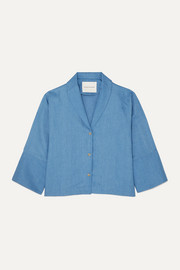 King & Tuckfield Tencel blouse