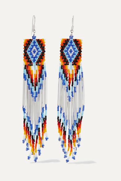 Bead Earrings by Jessie Western