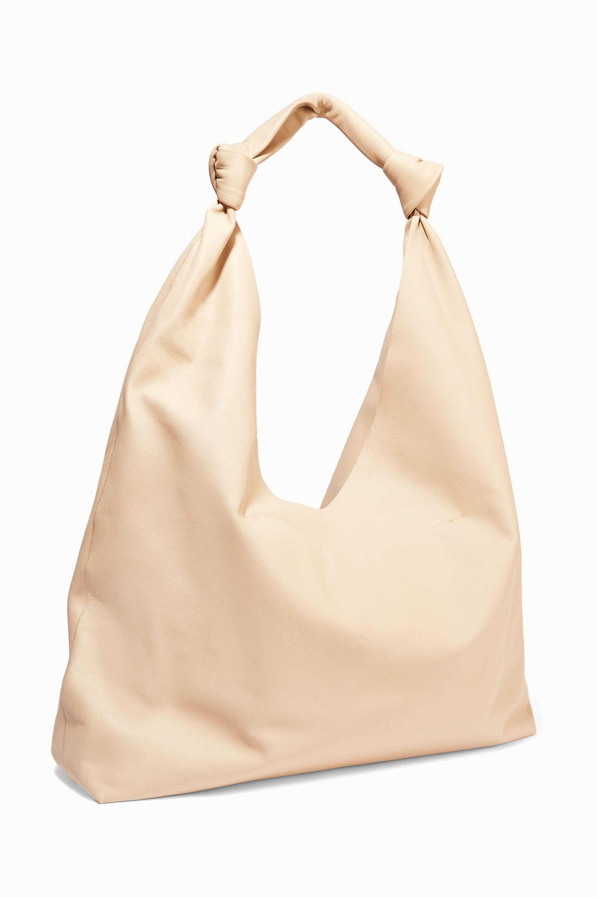 The Row Bindle Double Knots leather shoulder bag