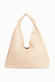 The Row Sac porté épaule en cuir Bindle Double Knots