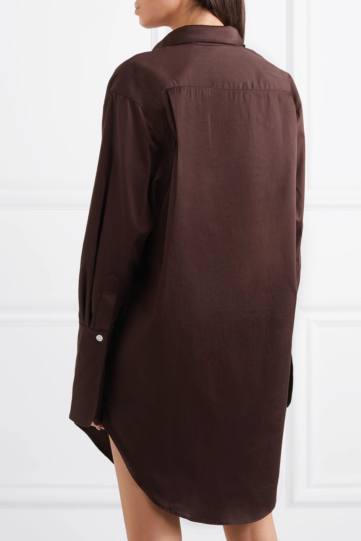 The Line By K Roe cotton-poplin shirt dress