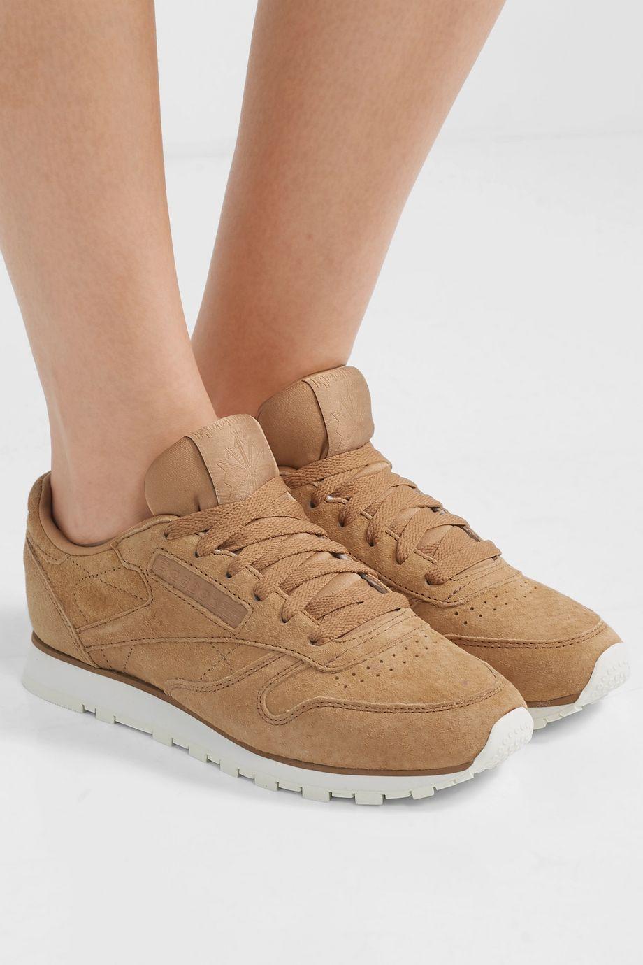 Reebok Classic suede sneakers