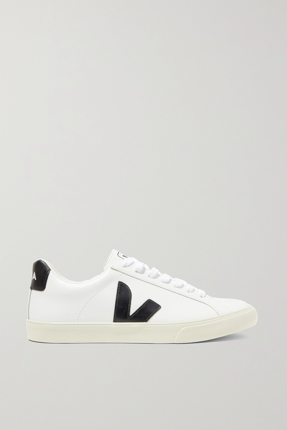 Veja + NET SUSTAIN Esplar rubber-trimmed leather sneakers
