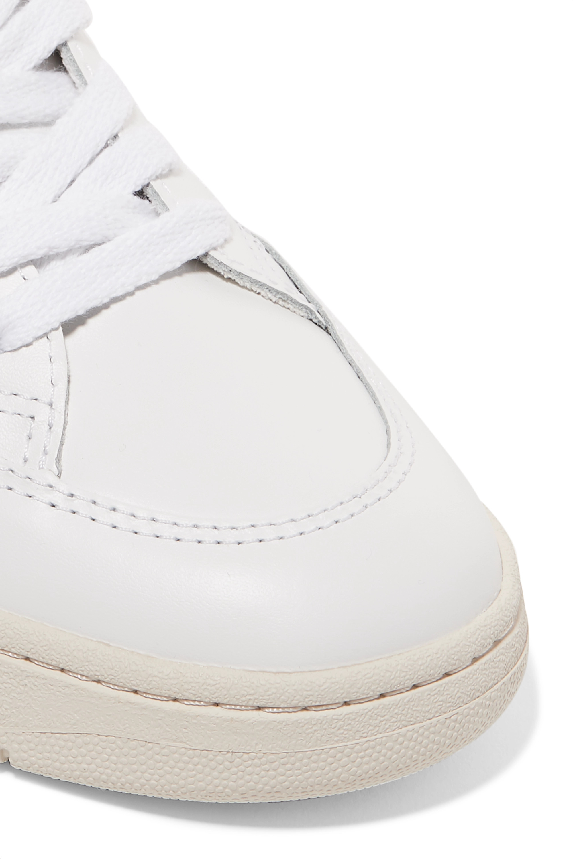 Veja + NET SUSTAIN V-12 leather sneakers