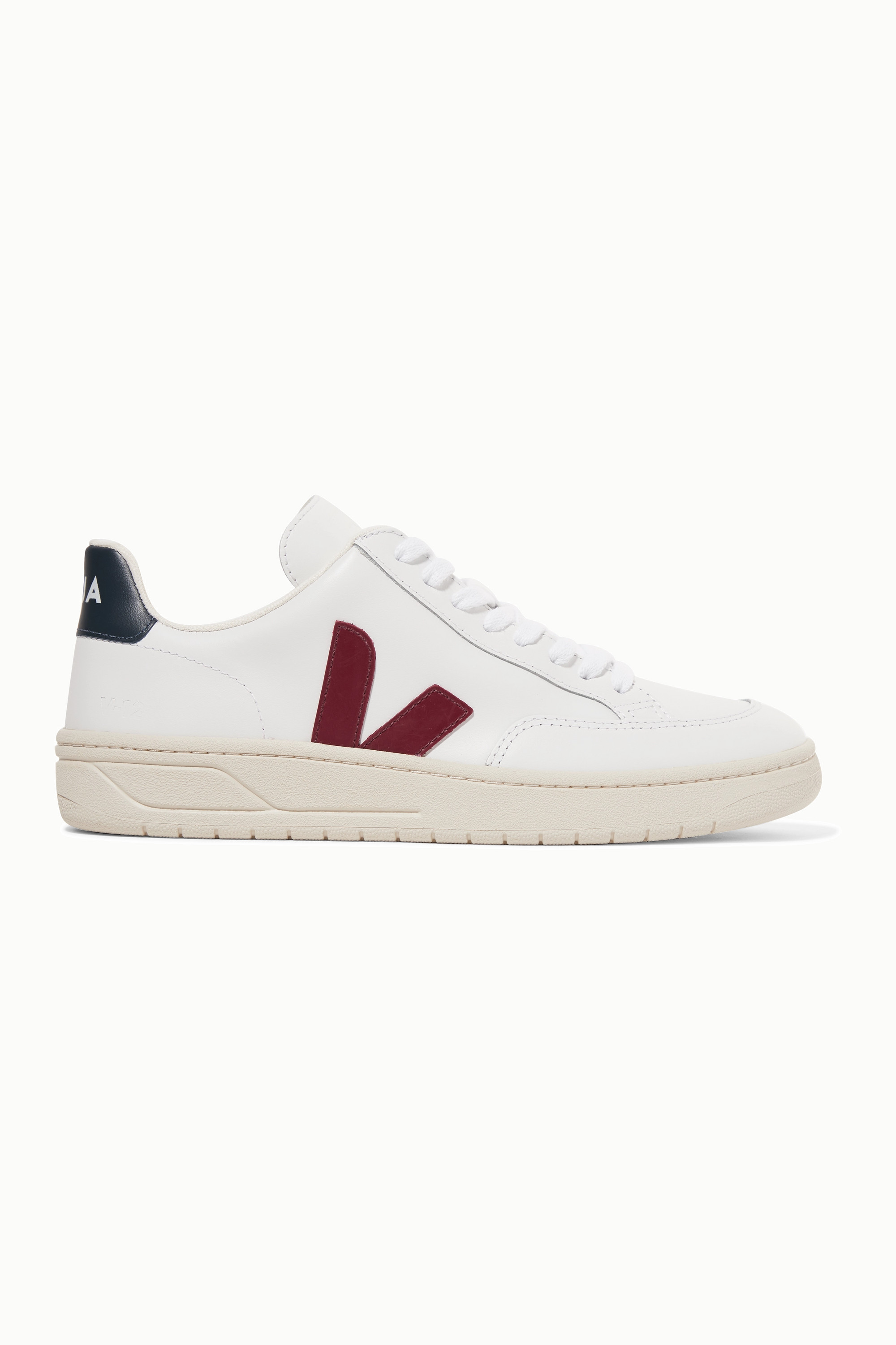 Veja + NET SUSTAIN V-12 leather sneakers