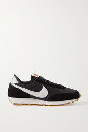 Nike Daybreak shell, suede and leather sneakers