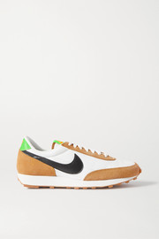 Nike Daybreak mesh, suede and faux leather sneakers