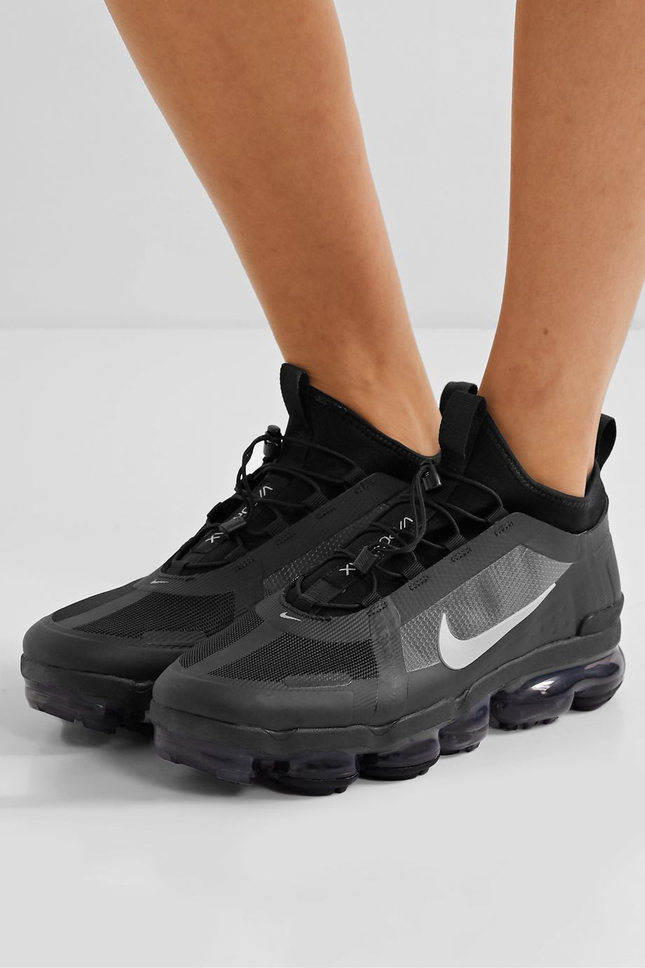Nike Air VaporMax 2019 Utility mesh and PVC sneakers