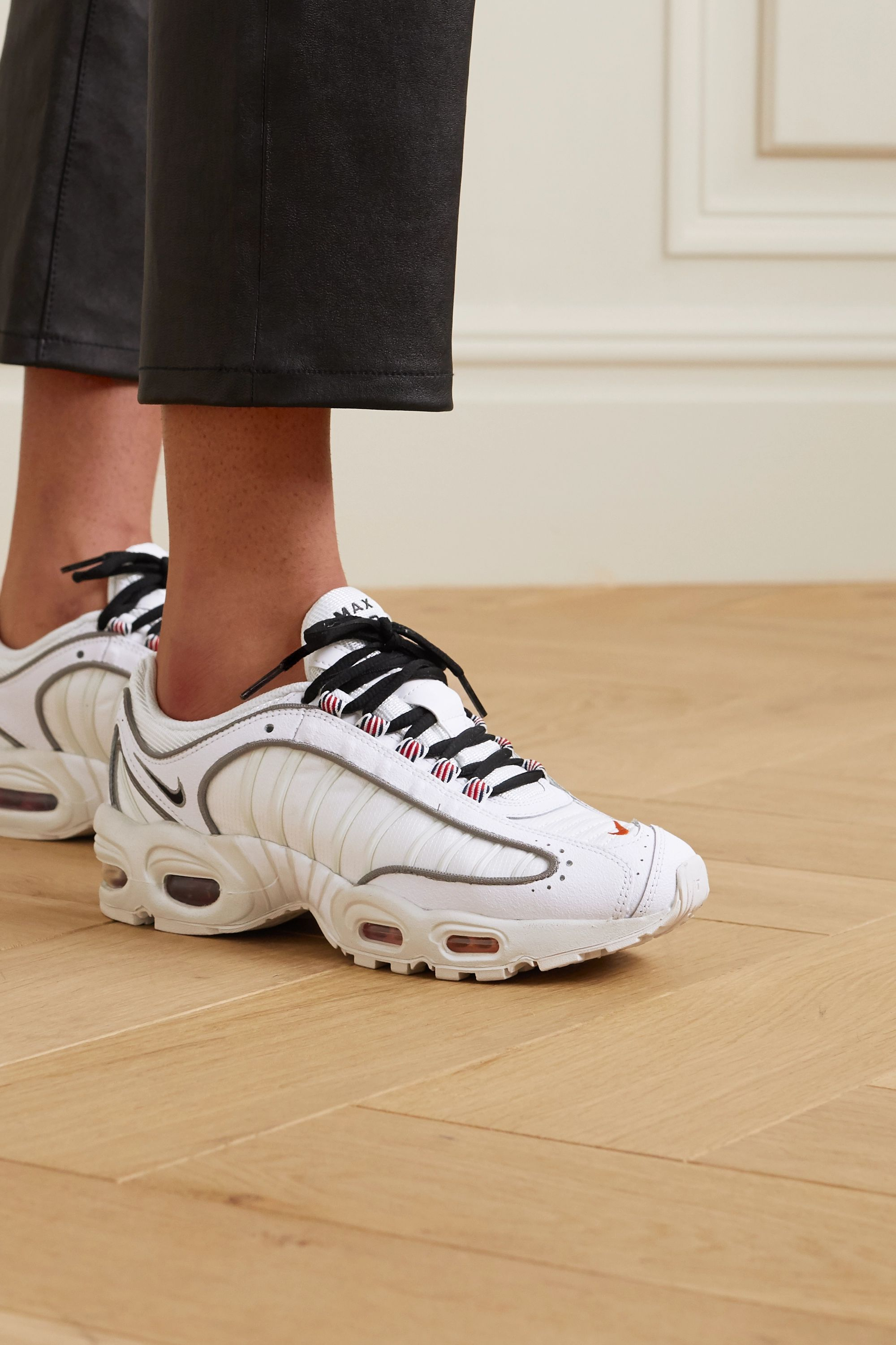 Nike Air Max Tailwind IV mesh and faux leather sneakers
