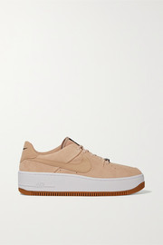 Air Force 1 Sage suede sneakers