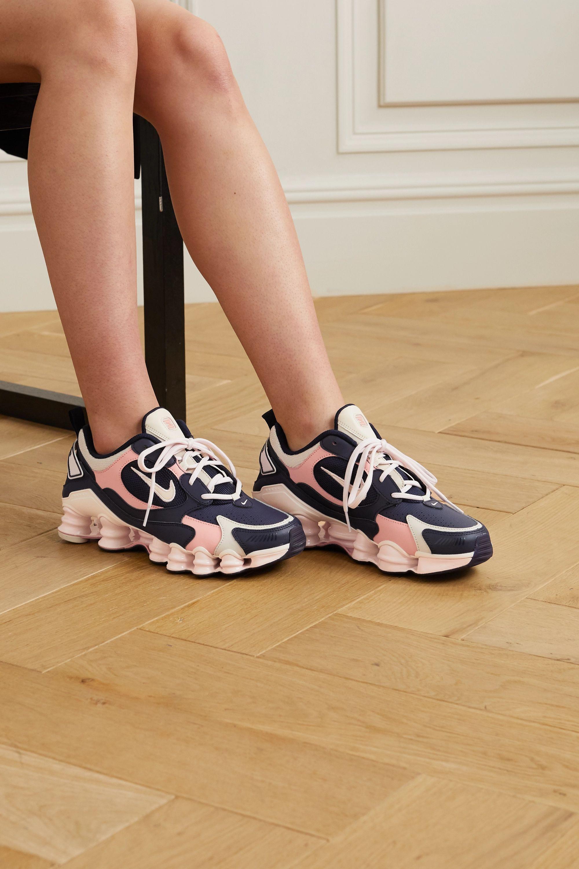 Nike Shox TL Nova Sneakers aus Leder und Mesh