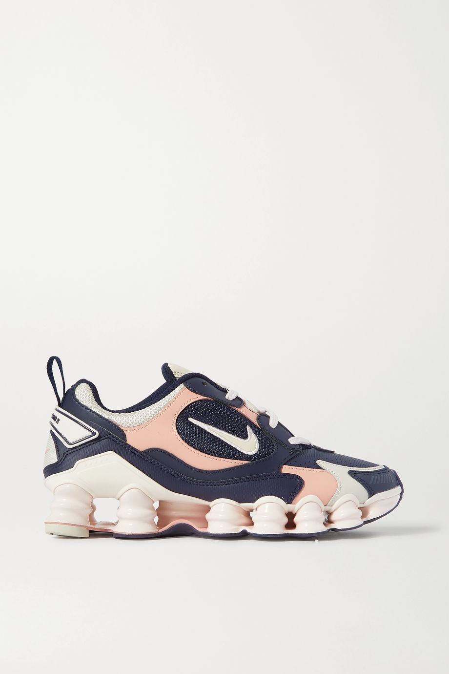 Nike Shox TL Nova leather and mesh sneakers