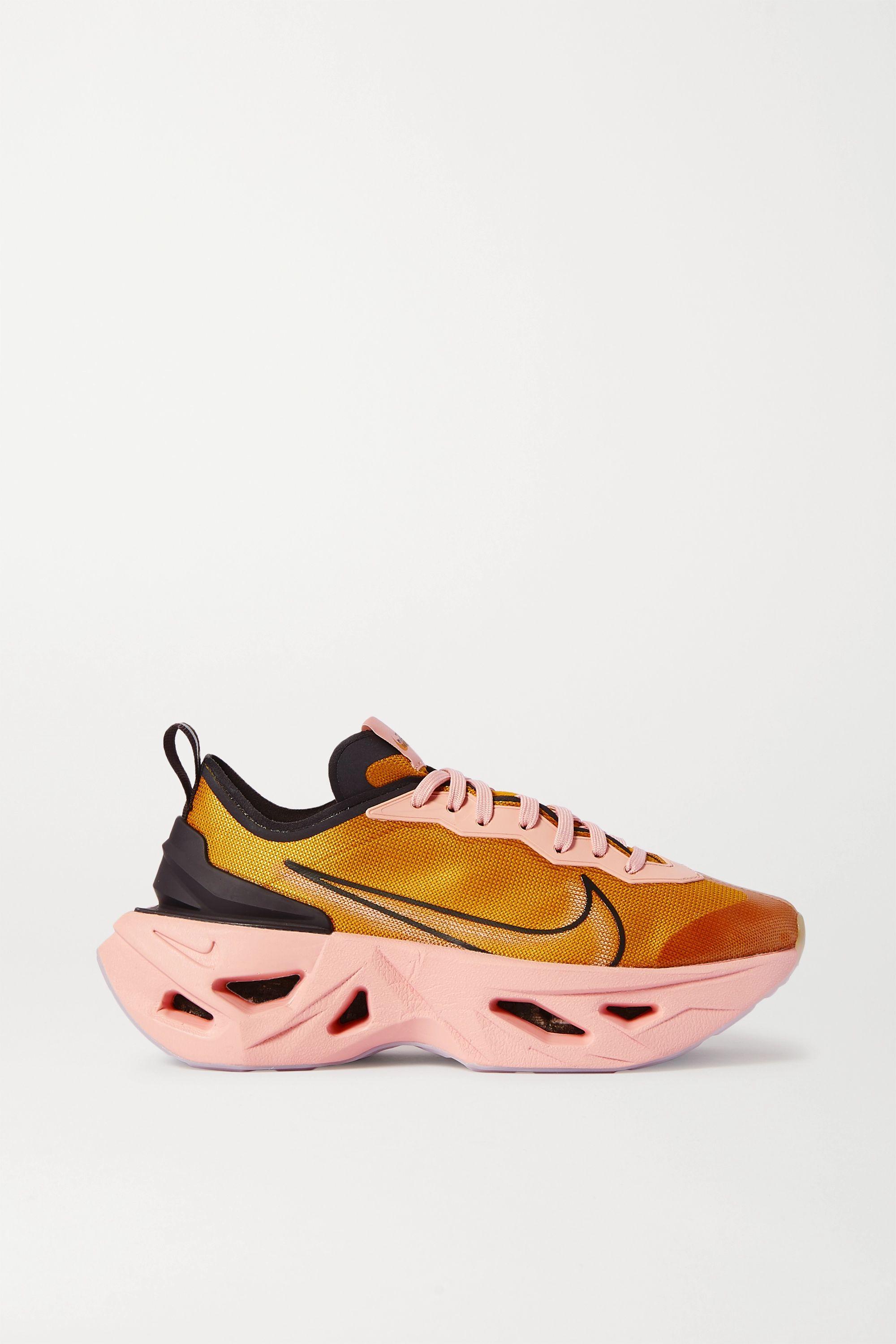 Orbita mezcla Sherlock Holmes  Mustard ZoomX Vista Grind mesh sneakers | Nike | NET-A-PORTER