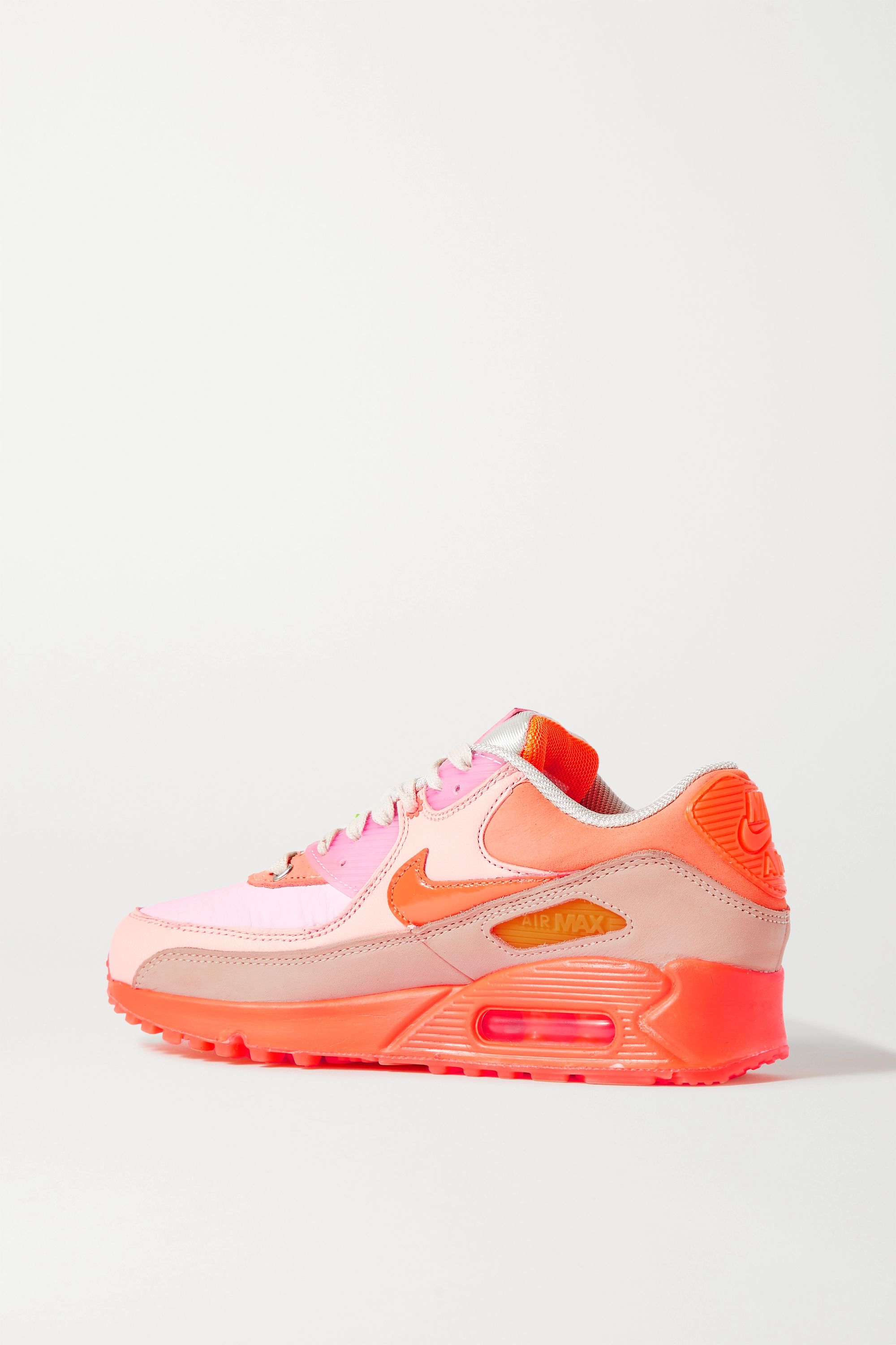Nike Nike Air Max 90 leather and rubber sneakers
