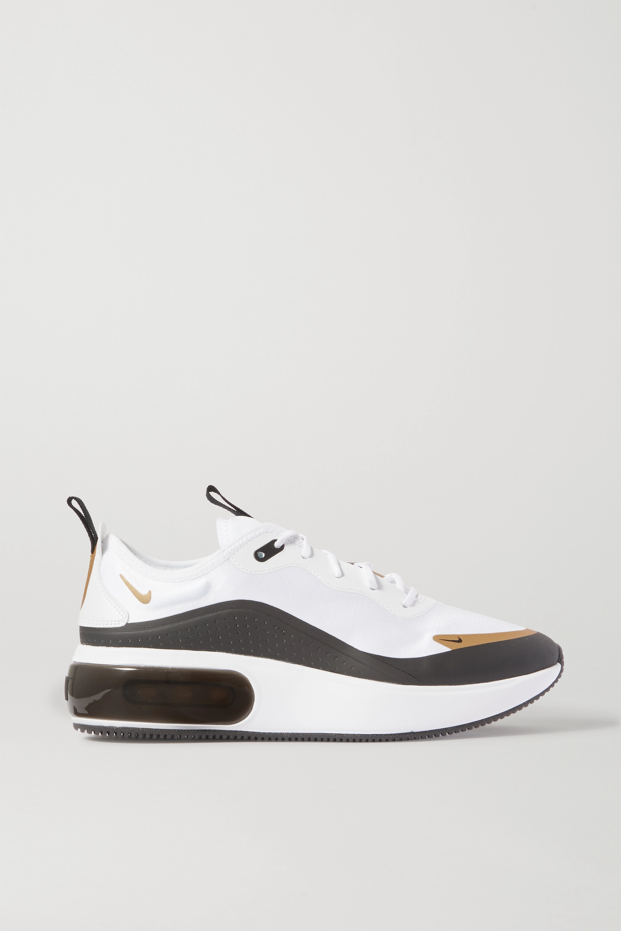 Air Max Dia Icon Clash rubber-trimmed ripstop sneakers