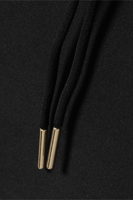 Nike Cropped laser-cut Dri-FIT hoodie