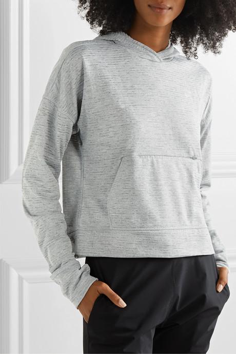 Element striped Dri-FIT hoodie