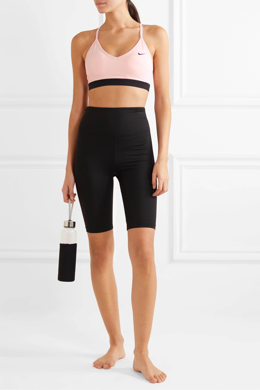 Nike Indy mesh-trimmed Dri-FIT sports bra