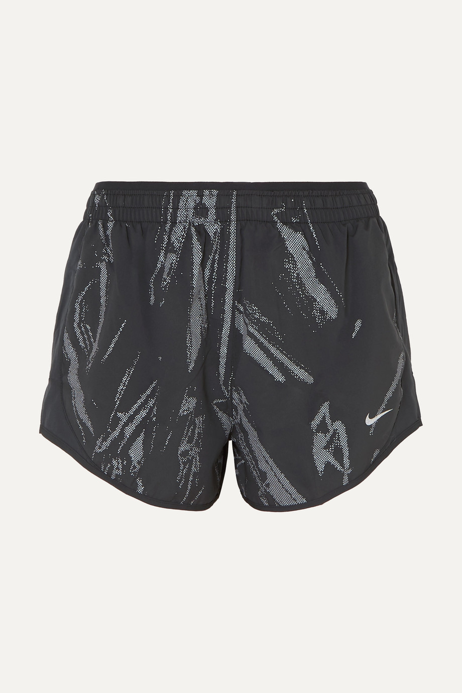 Nike Tempo Lux printed shell shorts