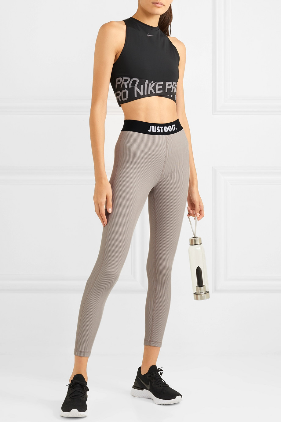 Nike Ribbed stretch leggings