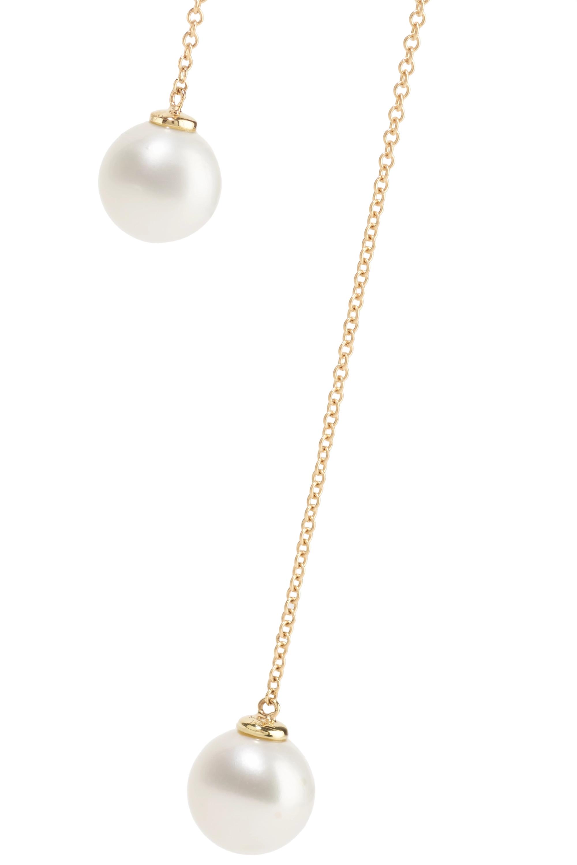 Mateo Kette aus 14 Karat Gold mit Perlen
