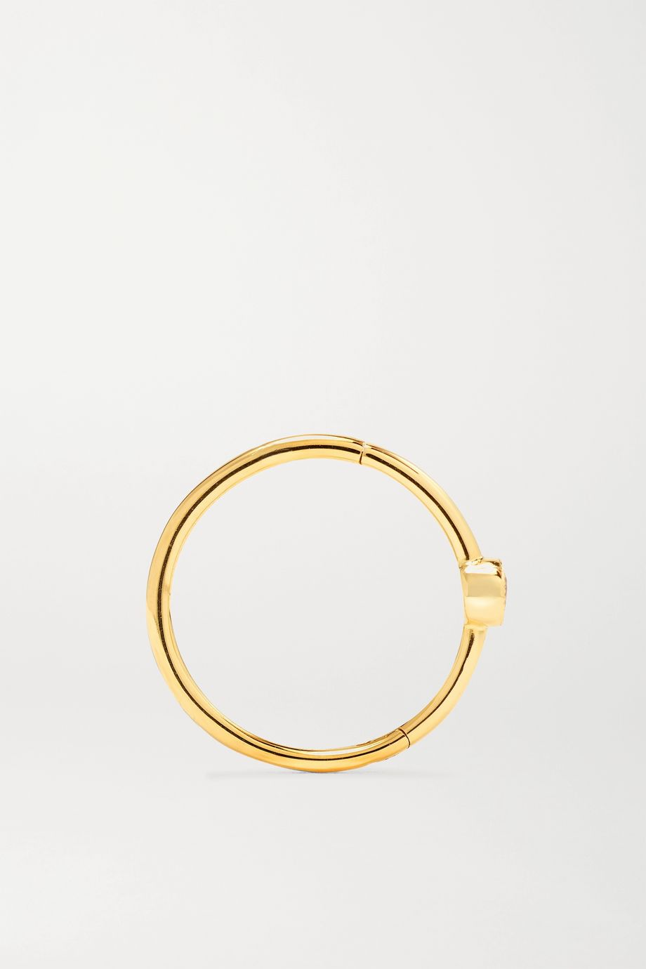 Maria Tash 11mm 18-karat gold hoop earring
