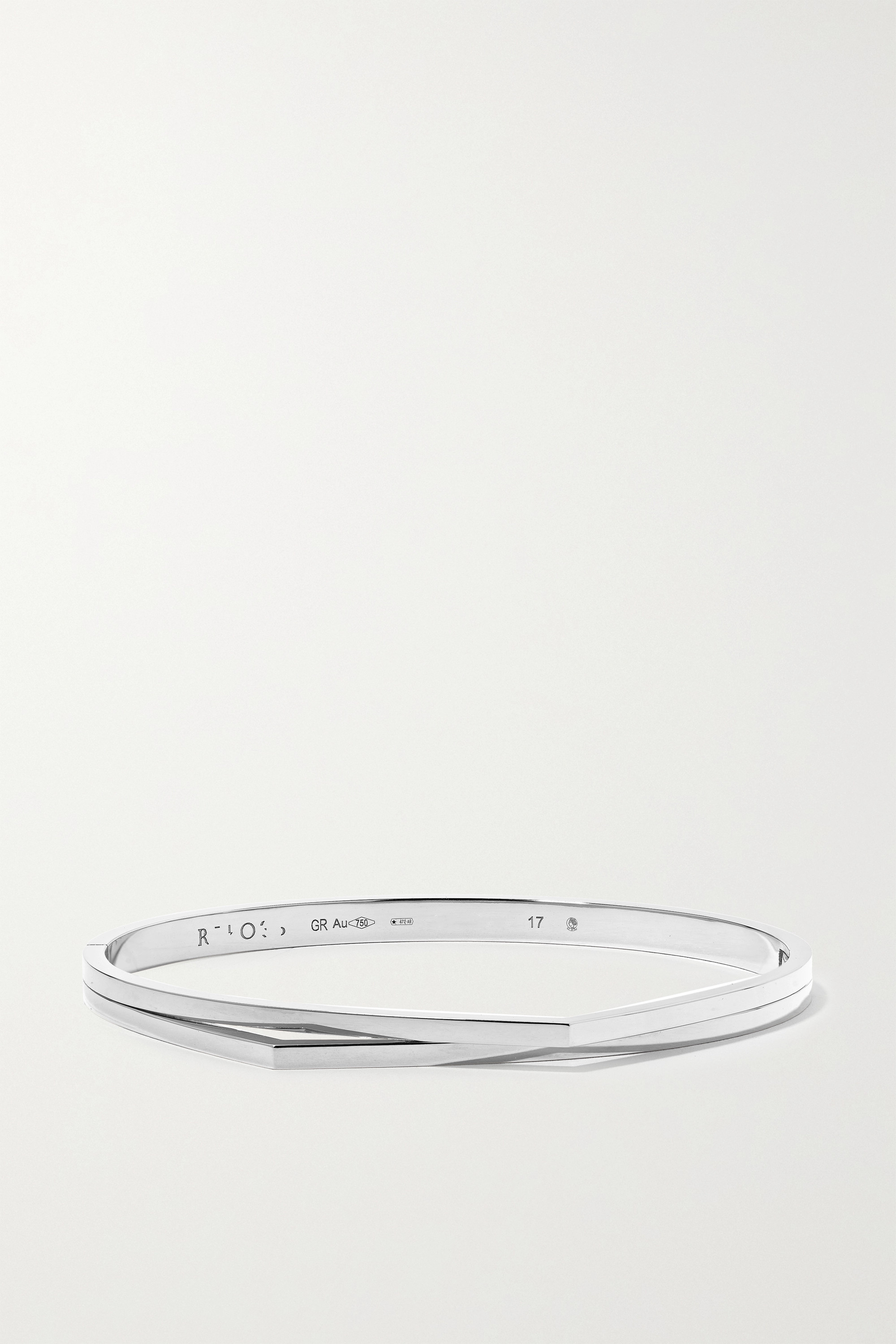 Repossi Bracelet en or blanc 18 carats Antifer